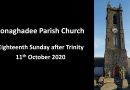 Sunday Service – 11th October 2020