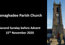Sunday Service – 15th November 2020