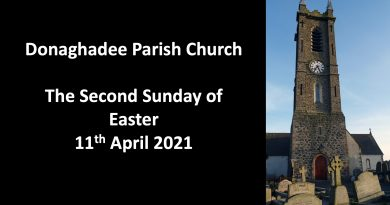 Second Sunday of Easter – 11th April 2021