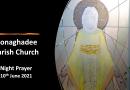 Night Prayer – 10th June 2021