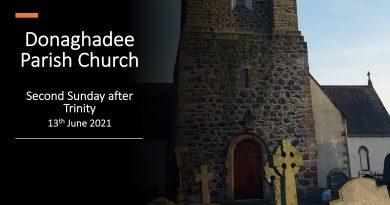 Sunday Service – 13th June 2021