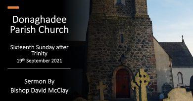 Sunday Service – 19th September 2021