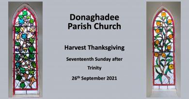 Harvest Thanksgiving – 26th September 2021