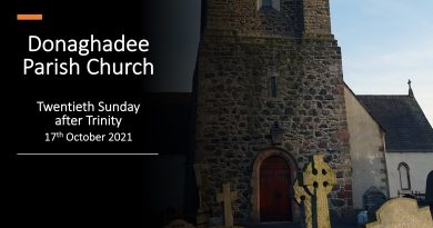Sunday Service – 17th October 2021